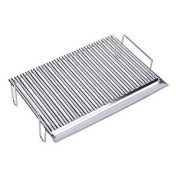 Sauvic 02780 - Barbecue Grill With Legs, In V-shape, In 304 Stainless Steel, 65