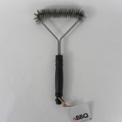 Metal Triangle Bbq Brush - Cleaning Scraper Steel Wire Tool Remover Barbecue New