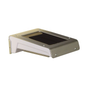 B#luxform Solar Led Wall Light Lamp Outdoor Garden Madison Silver And White 3410