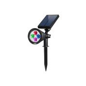 Amir Solar Spotlight, Solar Powered Outdoor Wall Lights Waterproof, 180°angle