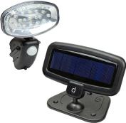 Andrew James 15 Led Solar Security Light Motion Sensor Outdoor Garden Wall Lamp
