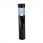 Maplin Solar Powered Bollard Light Black Nickel Weatherproof Outdoor Driveway