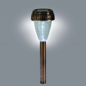 Maplin Solar Powered Stick Light Antique Copper Weatherproof Outdoor Driveway