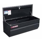 Weatherguard 664-5-01 160cm x 41cm x 19 Slant Front Black Aluminium Chest