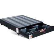 Weatherguard 308-5 100cm x 120cm x 9 3/8 Black Pack Rat Drawer Unit