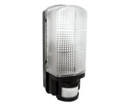 Robus R60bhpir-04 Bulkhead Security Light Fitting With Pir Movement Sensor Black