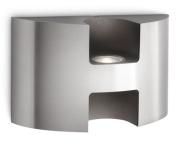 Philips Ledino 172544716 Inox Watermill Aluminium Outdoor Led Wall Light