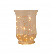 Led String Lights, 20 White Leds, 0.4m Lead Copper Wire, Battery Operated, Timer