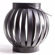 Quality Black Iron Candle Lantern Garden Ornament/decor