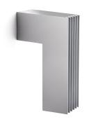 Philips Ecomoods Outdoor Energy-saving Wall Light - Silver Effect - 16904/87/16