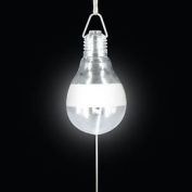 Portable Hanging Solar Powered Led Light Bulb Outdoor Garden Camping Tent Lamp