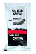 Oregon 90476 Red Fluid Grease 50 Ml Sachet For Lubricating Chainsaw Bar Nose...