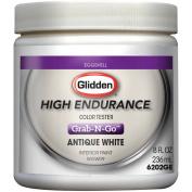 Glidden High Endurance Grab-N-Go Antique White Eggshell Interior Paint Tester 240ml