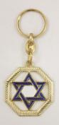 Star of David key chains Christian Judaic key rings