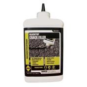 SAKRETE 120041 Blacktop Crack Filler,0.9l.,Bottle G0465431