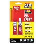 SUPER GLUE 15350 Single-Use Epoxy Tubes