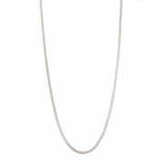 PORI Jewellers Italian Sterling Silver Coreana Chain Necklace, 41cm