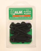 Alm Flymo Minimo Duo E25 E30 Plastic Blades Fl241