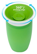 Munchkin Miracle 360 Degree Sippy Toddler Cup Spoutless Design - 296 Ml - Green