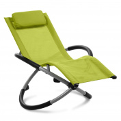 Sturdy Green Garden Home Rocking Chair Furniture Recliner Outdoor Indoor Kid Fun
