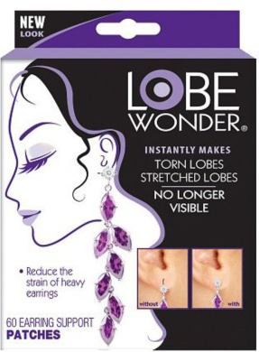 Lobe Wonder Support Patches for Earrings 60 ea