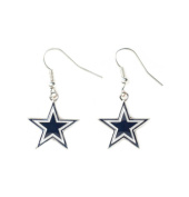 Aminco NFL Dallas Cowboys Dangle Earrings w/Gift Box