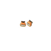 Garfield Character 3D Post Earrings w/Gift Box By Superheroes