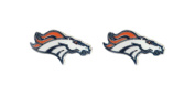 Aminco Denver Broncos - NFL Team Logo Post Earrings w/Gift Box