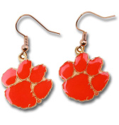 Aminco NCAA Clemson Dangle Earrings w/Gift Box