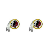 Aminco Washington Redskins - NFL Team Logo Post Earrings w/Gift Box