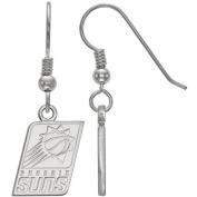LogoArt NBA Phoenix Suns Sterling Silver Dangle Earrings