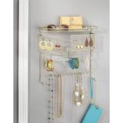 InterDesign Classico Hanging Fashion Jewellery Organiser, Wall Mount