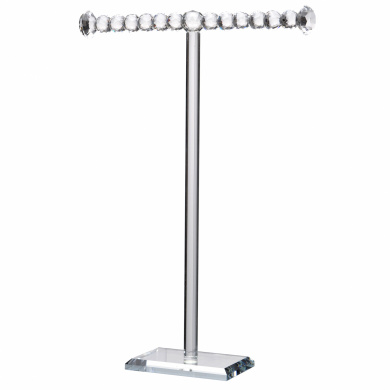 A & B Home 1-Tier Brinley Necklace Stand, Tall