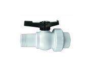 3.8cm HydroTools Swimming Pool Precision ABS Threaded Ball Valve