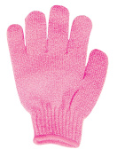 Spa Sister Bathing Gloves, Pink