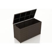 Harmonia Living Arden Deck Box in Chestnut