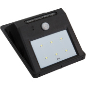 Everyday Home Solar-Power Motion-Activated Outdoor Wall Light