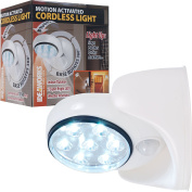 Ideaworks 82-6676 Motion Activated Cordless Light, White