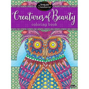 Cra-Z-Art Timeless Creations CREATURES OF BEAUTY Colouring Book
