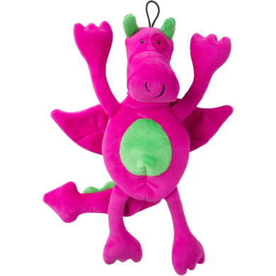 Trusty Pup Dragons Plush Toy - Pink