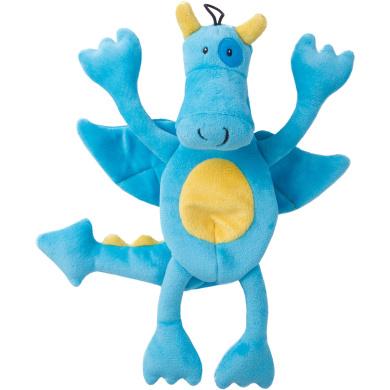 Trusty Pup Dragons Plush Toy - Blue
