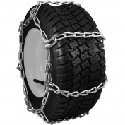 Peerless Chain Company Snowblower and Lawn Tractor Tyre Chains, 18X8.50X8, 4 Link Spacing