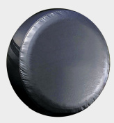 Large Black Universal Spare Tyre Cover fits 30 - 31