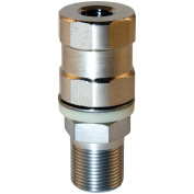 Tram 208 Super-Duty CB Stud Stainless Steel SO-239, All Thread and Contact Pin