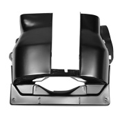 AA Performance Products Black Cylinder Head Cover Dual Port 1-2 Side