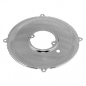 AA Performance Products Chrome Alternator Backing Plate