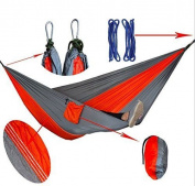 Homeself Double Camping Hammocks, Lightweight Nylon Parachute Multifunctiona