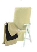 Brand Sseller Terry Cloth Cover For Garden Chair And Garden Lounger Beach Made X