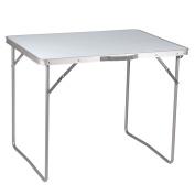 B#camp Gear Folding Camping Table Picnic Garden Economy 80x60x69 Cm Steel 140442