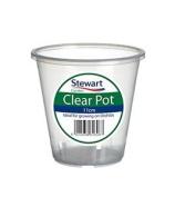 Stewart 2646008 11 Cm Clear Pot - Clear